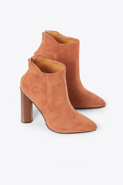 Suede Away Booties