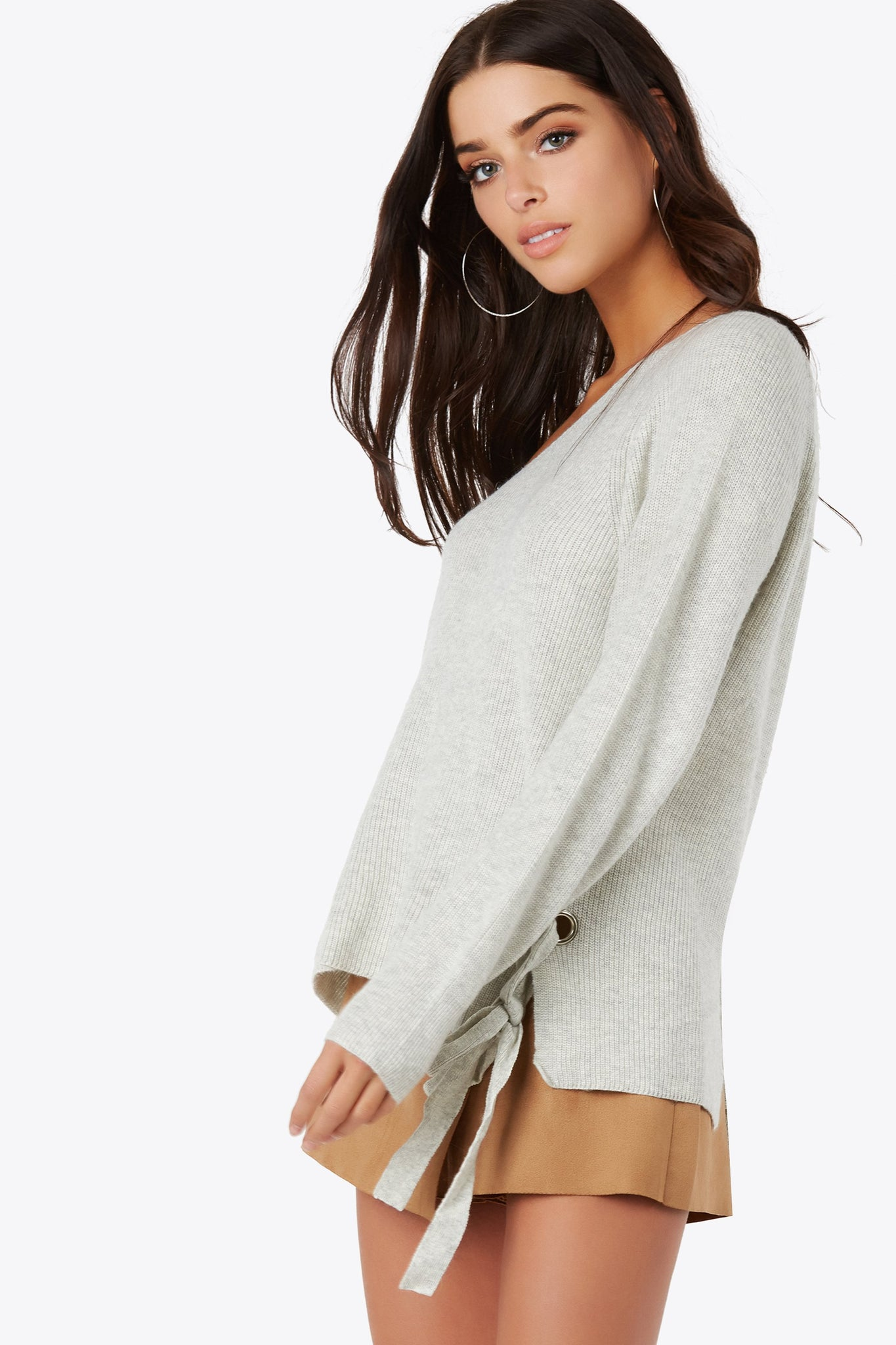 Loose End Knit Top