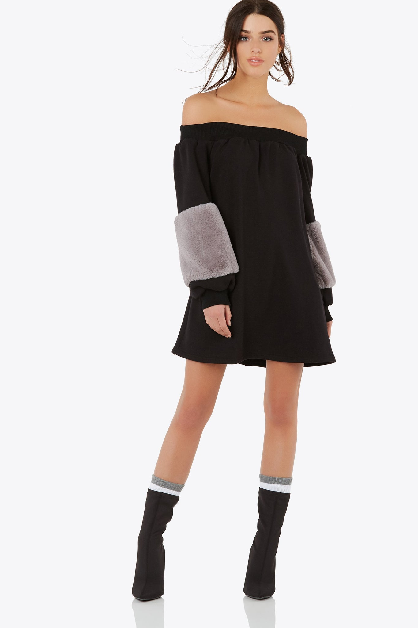 Faux Sure Sweater Dress