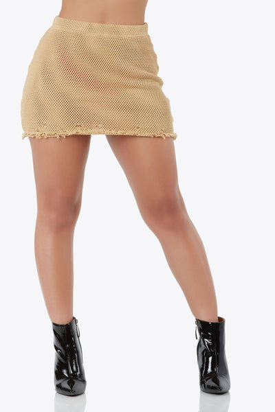 Fray It Out Loud Skirt
