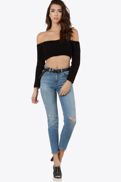 Crop To The Chase Top