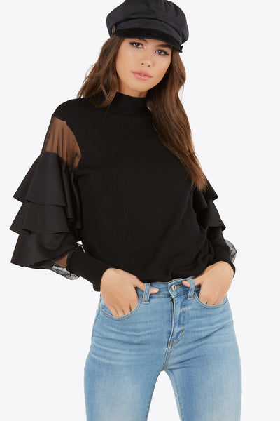 Sheer Volume Top