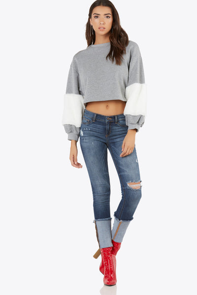 Faux Sure Sweater