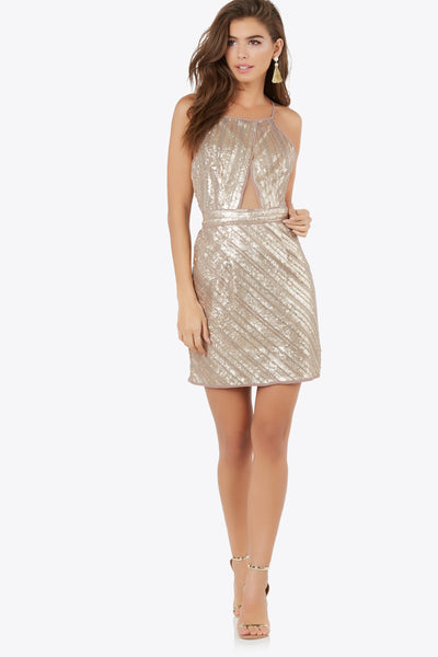 Sippin' Bubbly Sequin Dress