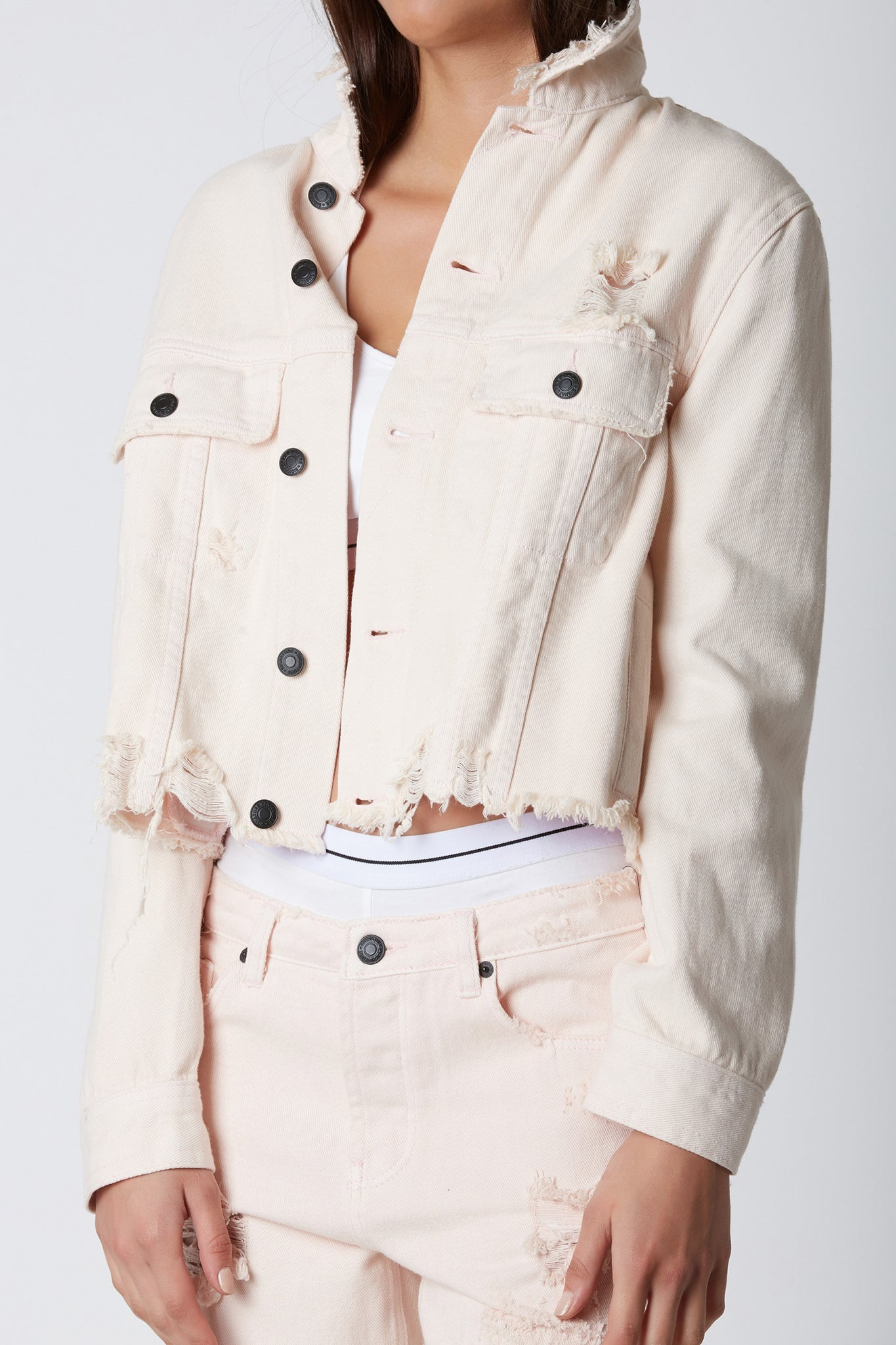 Blush Crush Denim Jacket