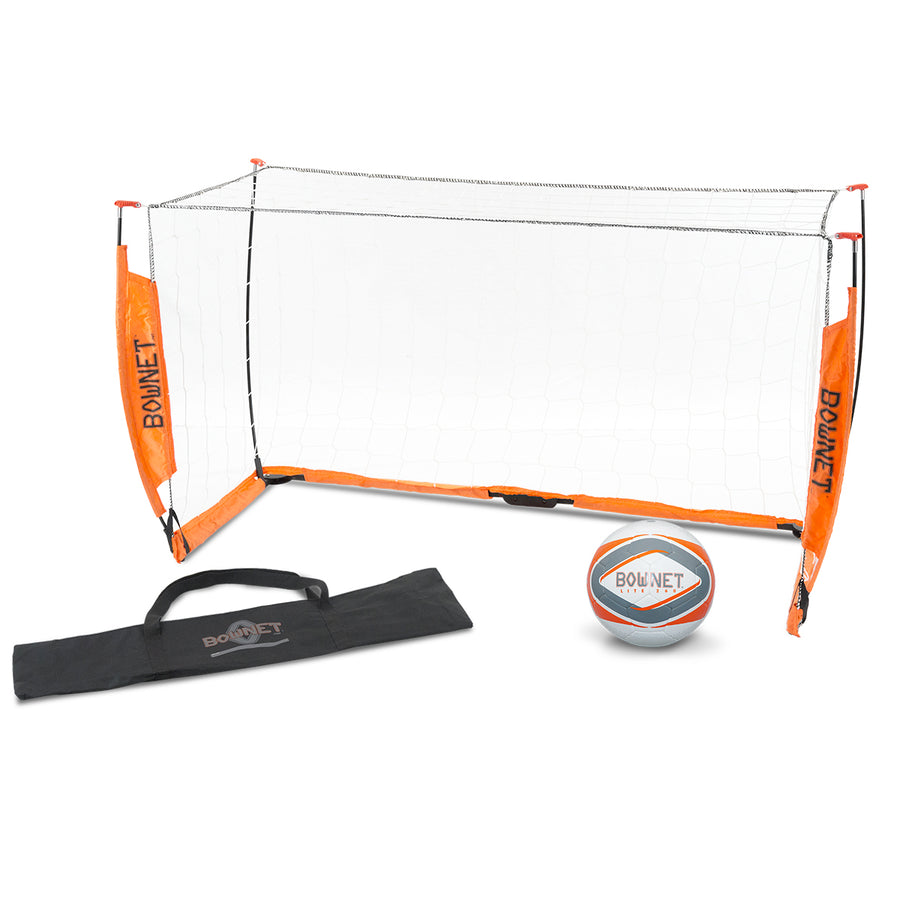 BUNDLE PACK: Bownet 3' x 5' Soccer Goal with Free Size 3 Lite Ball