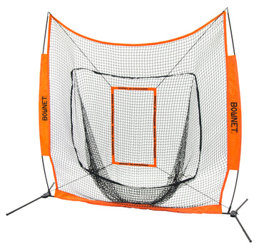 Bownet 6' x 6' Big Mouth Junior with Strike Zone