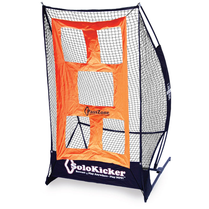 BUNDLE PACK - Bownet 7.4' x 4' SoloKicker with Passzone Attachment