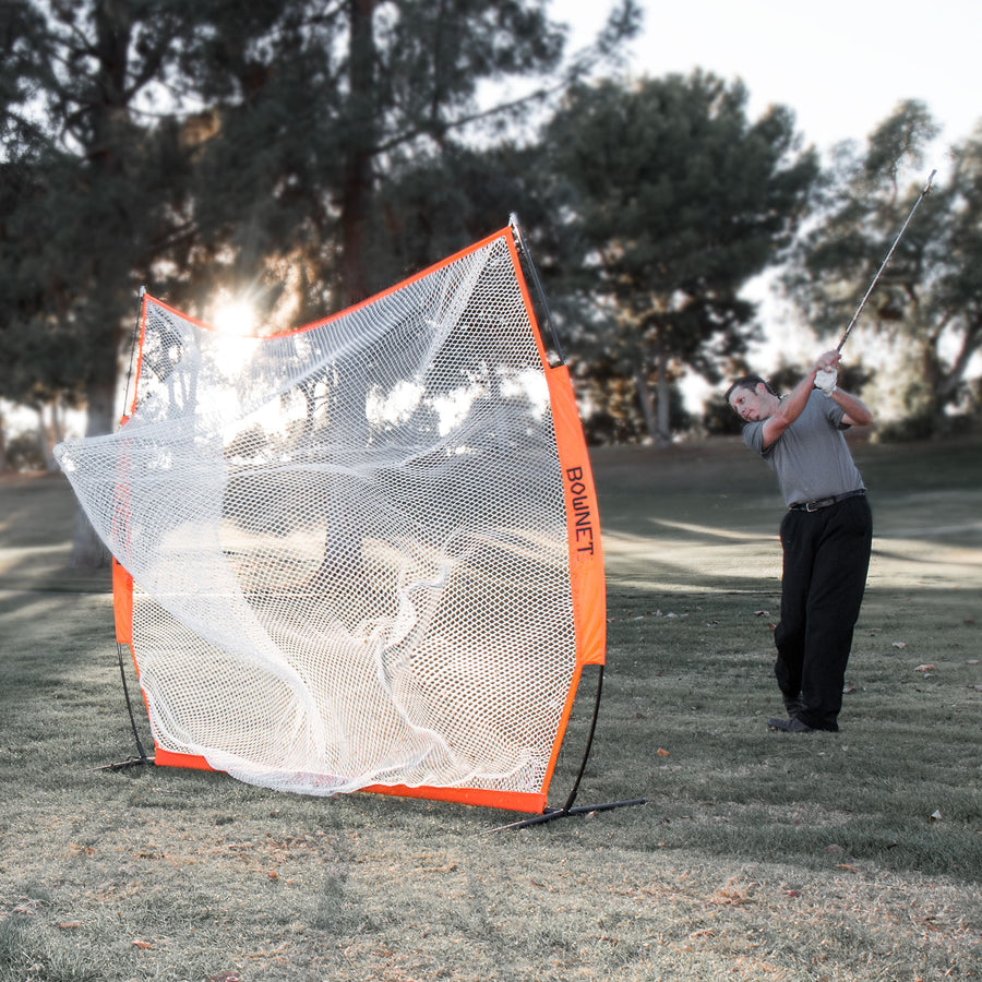 Bownet 7' x 7' Golf Net and Frame