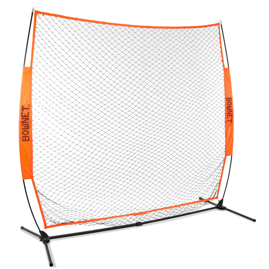 Bownet 7' x 7' Soft Toss Net with Frame