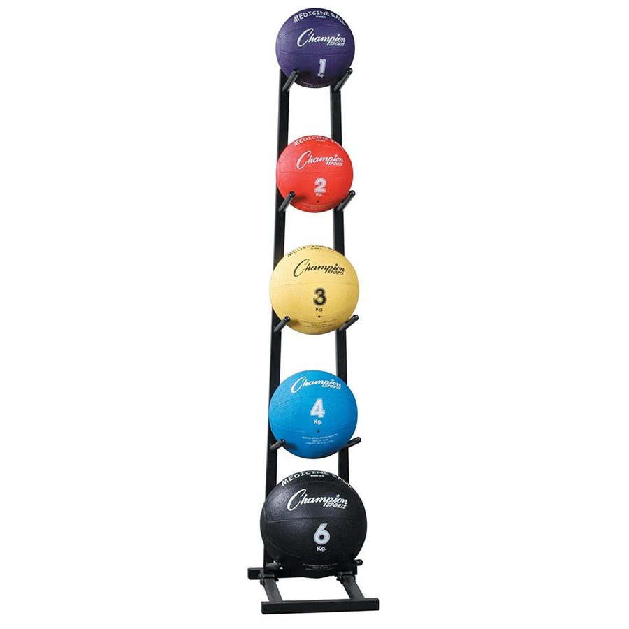 Champion 5-Ball Vertical Medicine Ball Rack