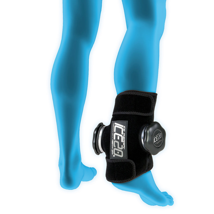 ICE20 Double Ankle Ice Therapy Compression Wrap