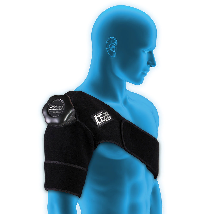 ICE20 Single Shoulder Ice Therapy Compression Wrap