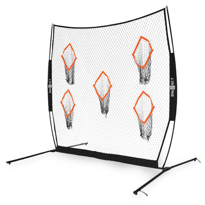 Bownet 8' x 8' Pocket Training Net