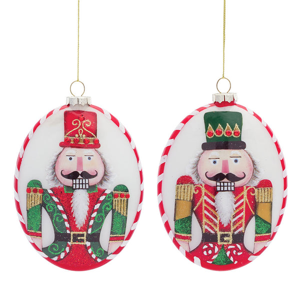 Nutcracker Disc Ornament