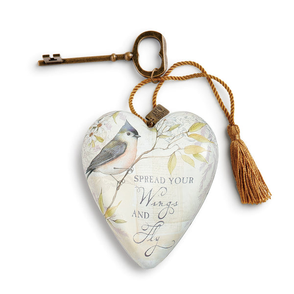 Treasured Art Heart Keepsake