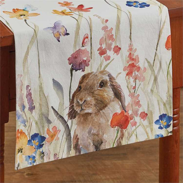 Enchanted Bunny Table Runner