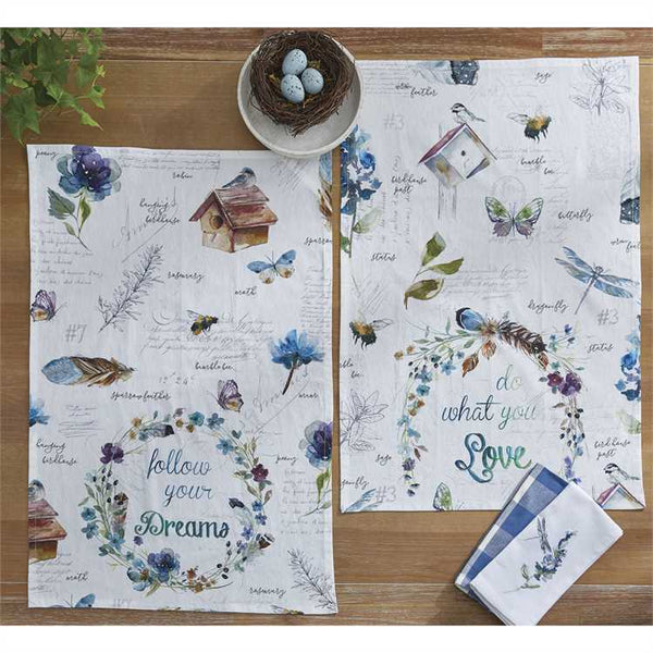 Spring Dreams Dishtowels