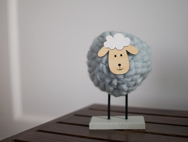 Playful Wooly Sheep