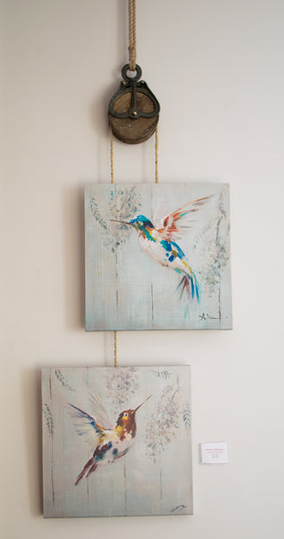 Hummingbird Print Collection with Block & Tackle