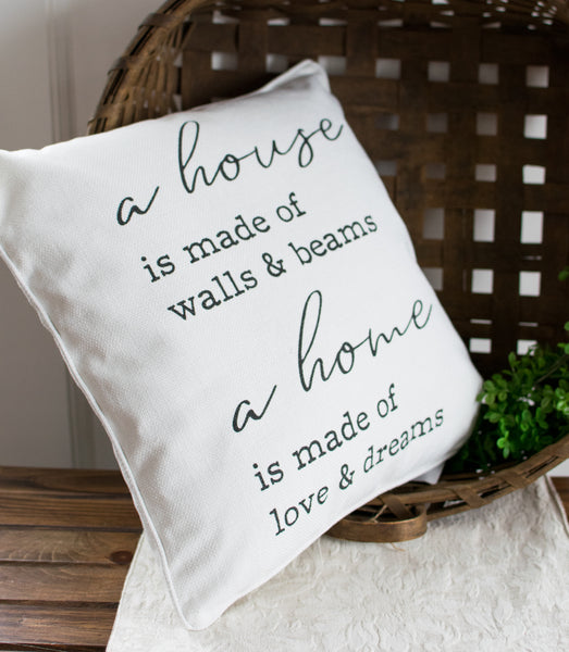 A House & Home Accent Pillow