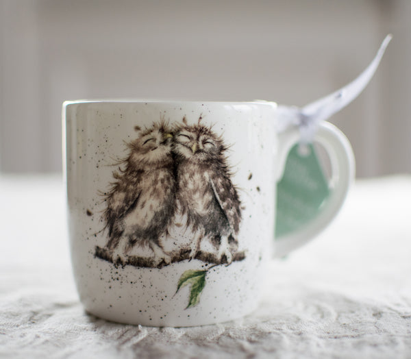 Birds of a Feather Bone China Mug