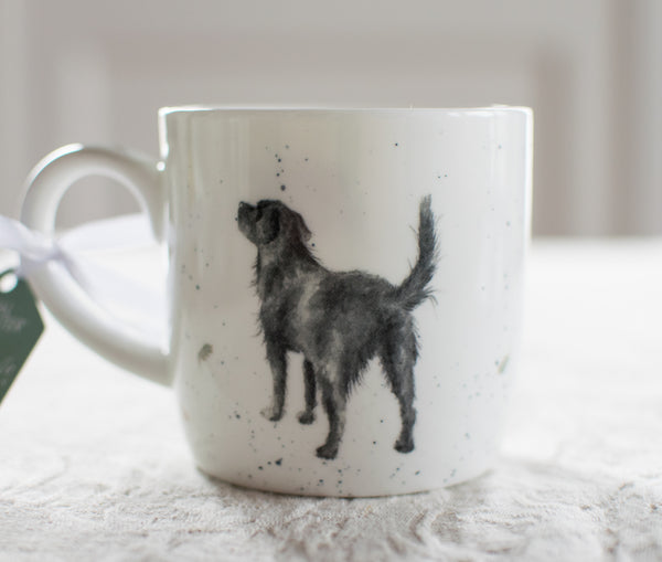 Walkies? Bone China Mug