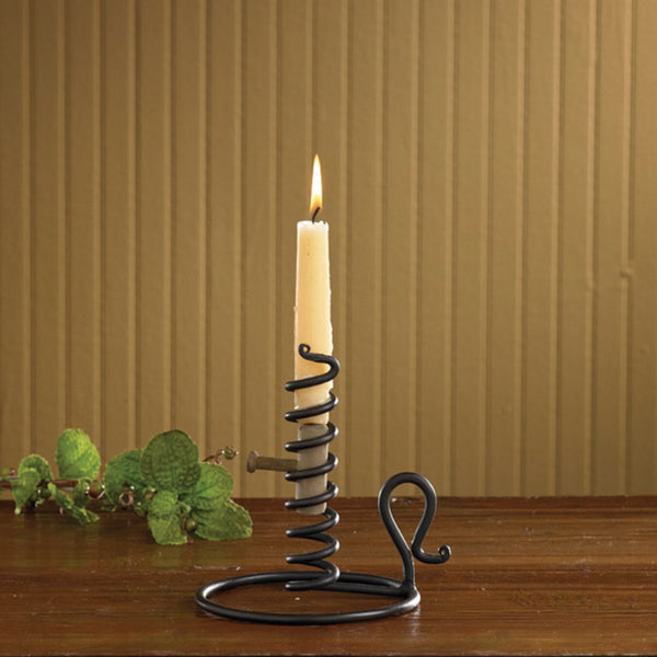 Forged Iron Courting Candle