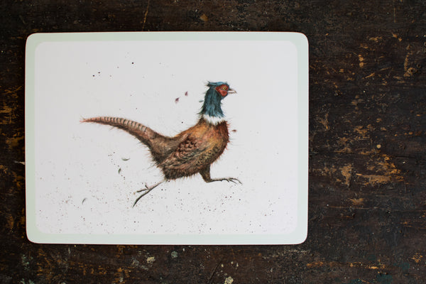 English Country Side Animals - Set of 6 Placemats