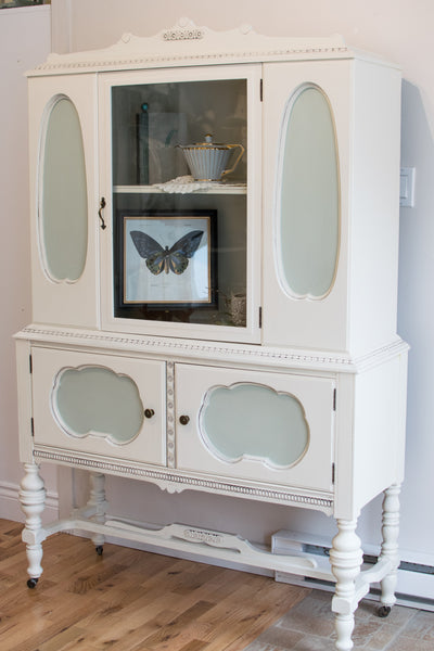 Antique Refinished Hutch