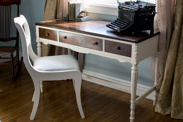 Antique Walnut Author's Desk