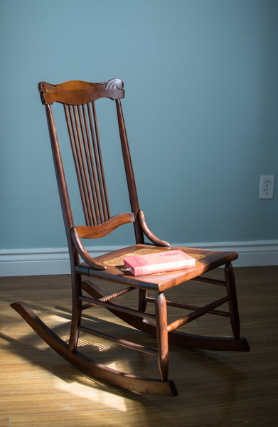 Ladies Reading Rocking Chair