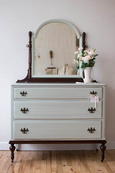 Two-Toned Antique Dresser