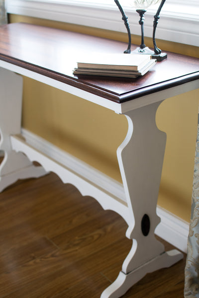 Scalloped Hall Table