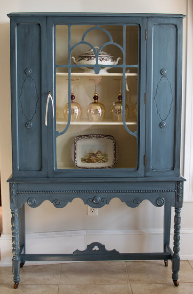 Depression Era China Cabinet