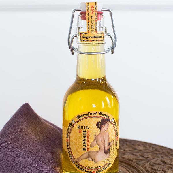 Massage & Bath Oil - Barefoot Venus