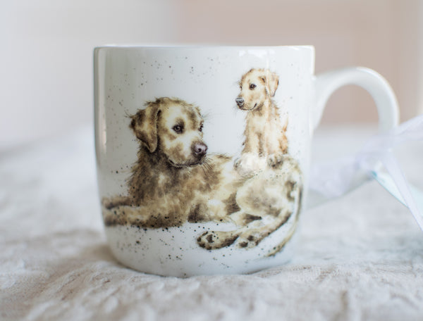 Devotion Bone China Mug - Wrendale