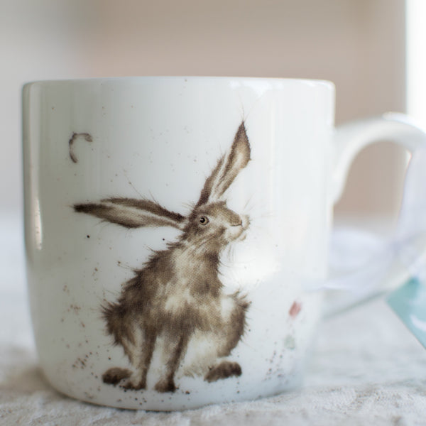 Good Hare Day Bone China Mug - Wrendale