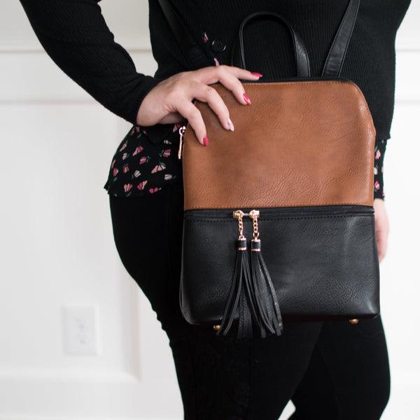 The Scarlett Backpack Purse