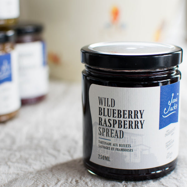 Wild Blueberry Raspberry Spread