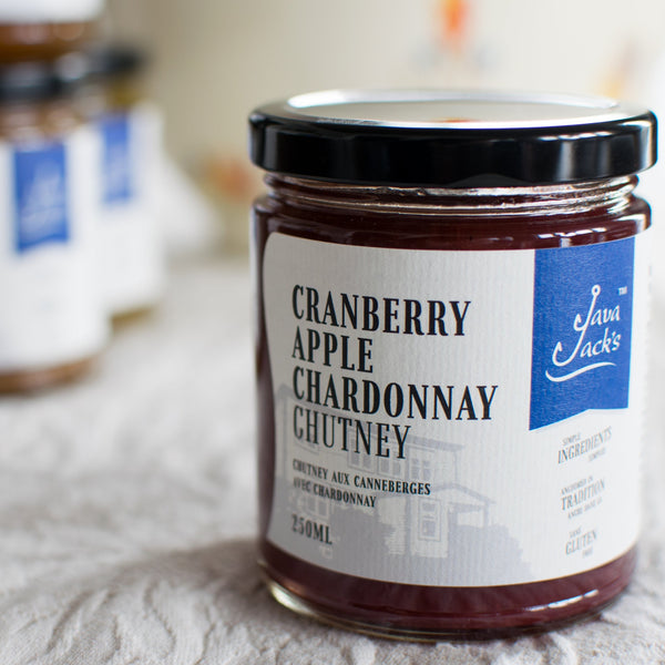 Cranberry Apple Chardonnay Chutney