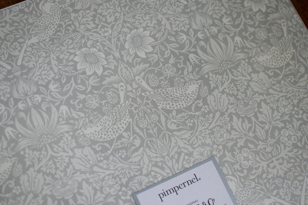 Pure Morris Grey Pimpernel Placemats (Set of 4)