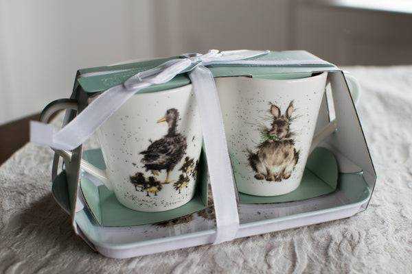 The Birds & Bunnies Gift Set - Wrendale