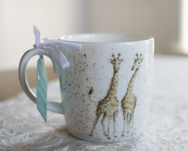 Lofty 14oz Bone China Mug - Wrendale