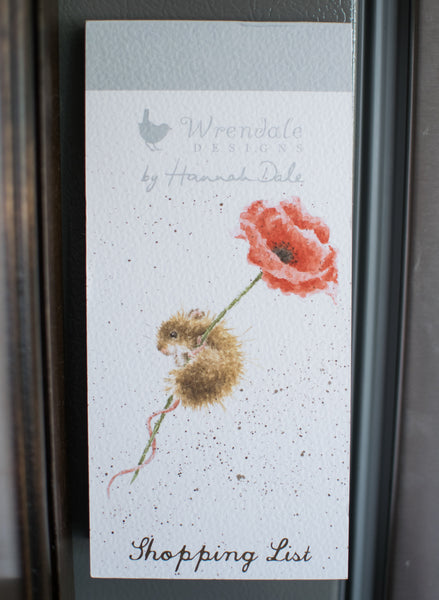 Poppy Shopping List - Wrendale