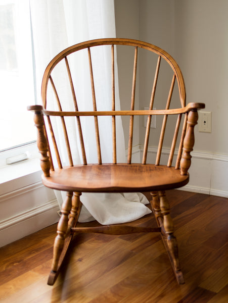 Windsor Antique Rocking Chair