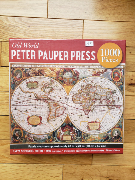 1000 Piece Puzzle - Peter Pauper Press