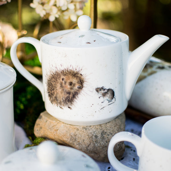 Hedgehog and Mouse Teapot