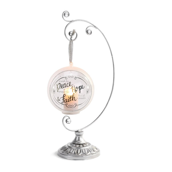 Gem Silver Ornament Stand