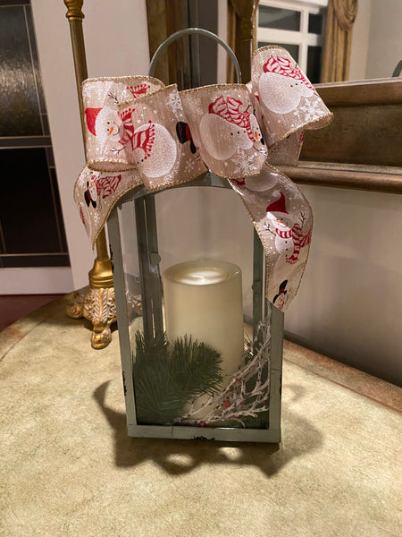 Festive Table Top Lantern